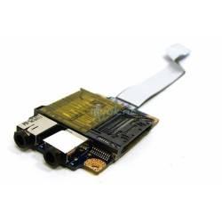 Плата расширения Card reader и Audio для ноутбука Lenovo G570 LS-6751P