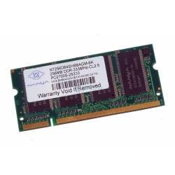 NT256D64SH8BAGM-6K - 256Mb